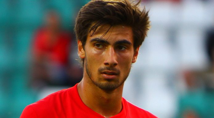 Andre Gomes on Portugal duty