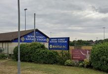 City of Liverpool FC who play at Bootle FC ground
