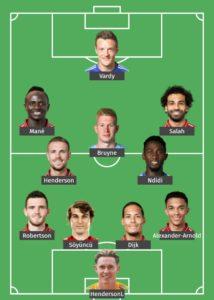 Team of the Season (so far)