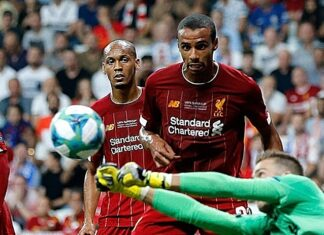Matip and Fabinho for Liverpool - image courtesy of Creative Commons License - Mehdi FARS Agency