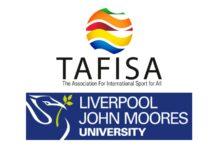 Logos of TAFISA and LJMU