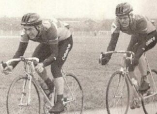 Cyclists at the 1992 Eddie Soens Memorial