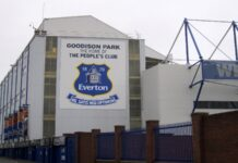 Goodison Park view from outside