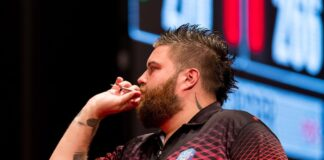 St Helens Darts player Michael Smith