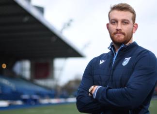 Sam Moore - pic courtesy of Cardiff Blues,