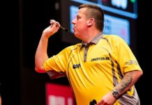 Dave Chisnall darts St Helens - pic by Sven Mandel, creative commons licence