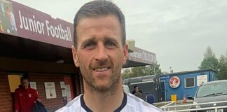 Liverpool-born Ryan Taylor - former Newcastle man now at Colne